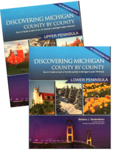 Discovering Michigan County by County Books